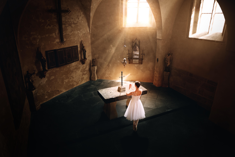 baletka – kostel