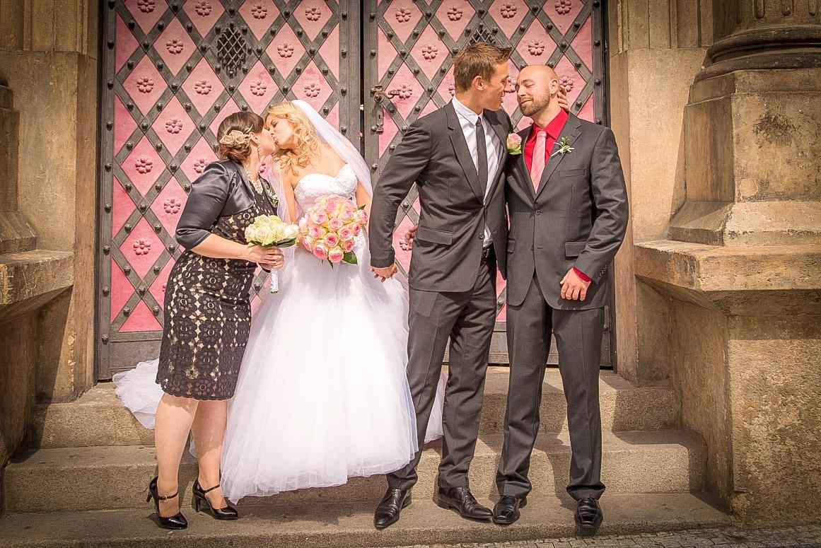 Praha svatební fotografie
