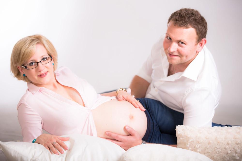 LUCIE A IVAN – těhotenské focení