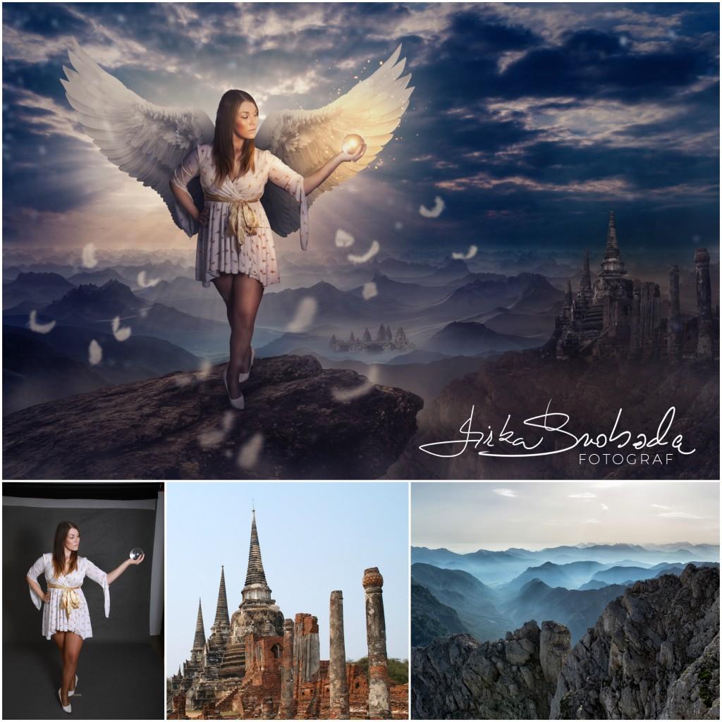 andělská katka Collage