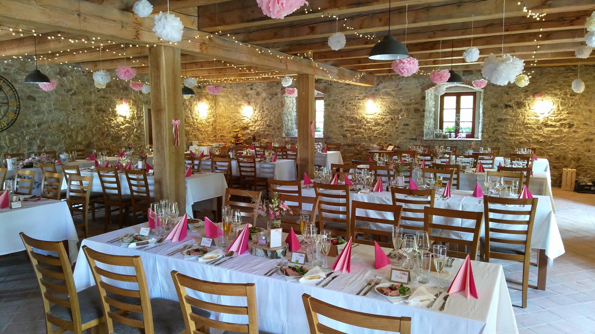 svatba zámek Svinaře