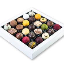 Produktová fotografie - čokoládové bonbóny